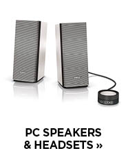 PC Speakers & Headsets
