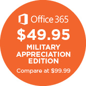 Microsoft Office 365 Military Appreciation Edition