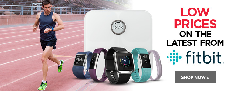 Low prices on the latest from Fitbit