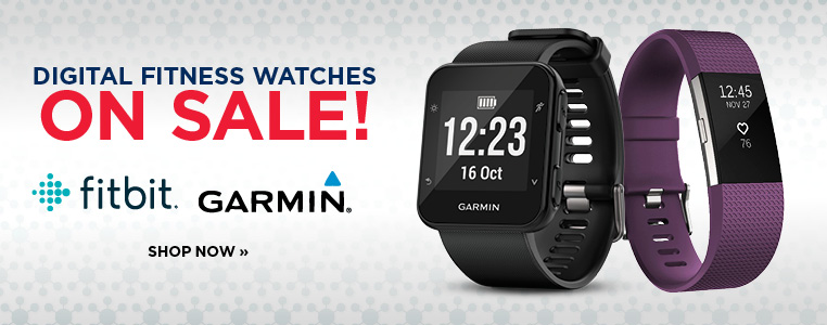 Digital fitness watches on sale