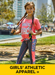Shop Girls' Athletic Apparel