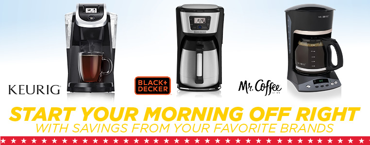 Start Your Morning Off Right With Savings From Your Favorite Brands