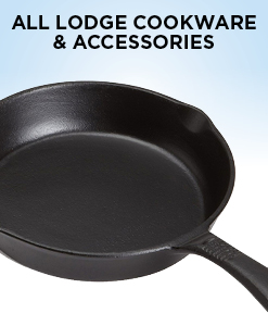 15% Off All Lodge Cookware and Accessories