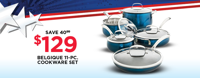 Belgique 11-Piece Cookware Set