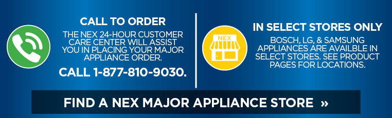 Find your nearest major appliance store