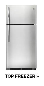 Shop for Top Freezer refrigerators