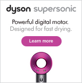 Learn more about Dyson Supersonic hair dryer