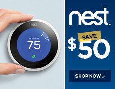 Save $50 on Nest learning thermostat