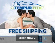 Free Shipping on Tempur Pedic mattresses