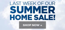 Last week of our home sale