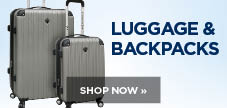 Shop luggage and backpacks