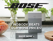 Nobody beats our prices on Bose