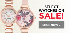 Select watch brands on sale