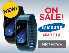 Samsung Gear Fit 2 on sale