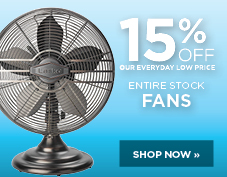 15% entire stock of fans