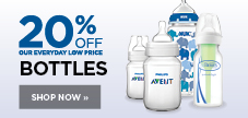20% off feeding bottles