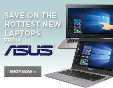 Save on the hottest new laptops from Asus