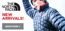 New arrivals from The North Face