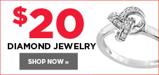 $20 diamond jewelry