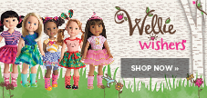 Shop American Girl Wellie Wishers
