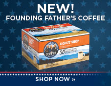 New Founding Father's coffee