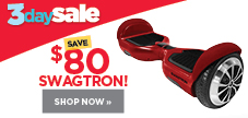 Save $80 on Swagtron hoverboards