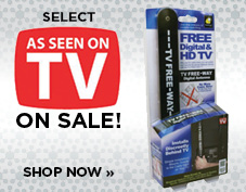 SELECT AS SEEN ON TV ON SALE