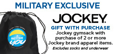 Military Exclusive on Jockey Activewear