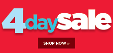 Shop our huge 4 day sale