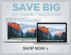 Save big on Apple Macbooks