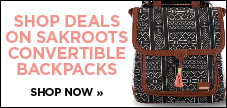 Shop Deals on Sakroots Convertible Backpacks