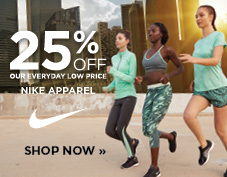 20% off women's apparel from Nike