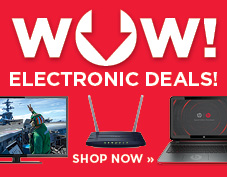 WOW! Amazing Electronics Deals
