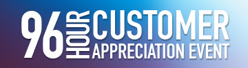 Shop our customer appreciation event