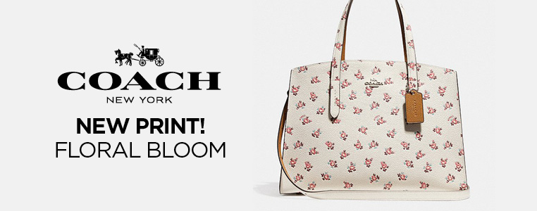 New Floral Bloom Print from Coach