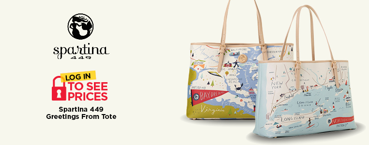 Spartina 449 Greetings from Totes
