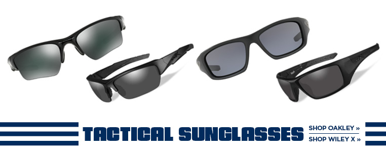 Tactical Sunglasses from Oakley and Wiley X