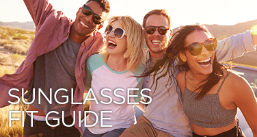 Shop Our Sunglasses Fit Guide