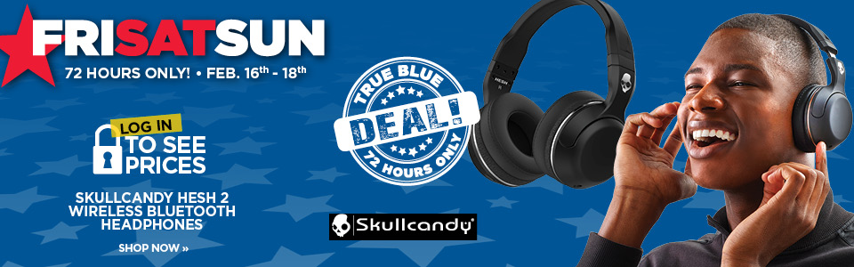 SAVE $30 ON SKULLCANDY HESH 2 WIRELESS HEADPHONES