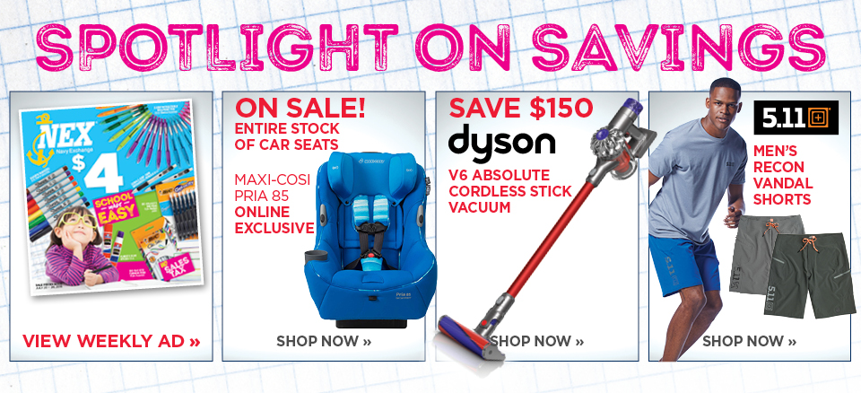 Weekly flyer - Dell Touchscreen Notebook - Save $150 on Dyson V6 stick vacuum - 5.11 Recon Shorts