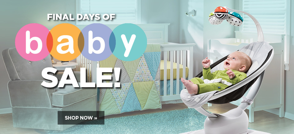 Final days of our Baby Sale