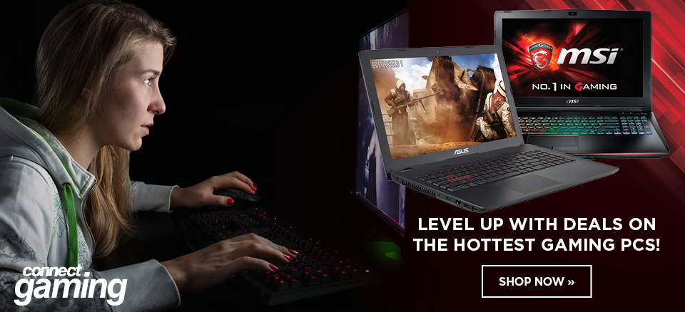 Level up with the hottest deals on gaming PCs