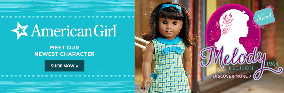 Meet the newest American Girl, Melody