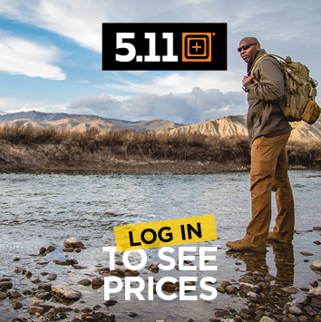 Log in to see pricing on 5.11 tactical gear