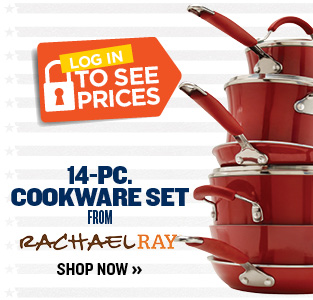 Rachel Ray 14-Piece cookware set
