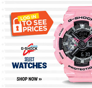 SELECT G-SHOCK WATCHES