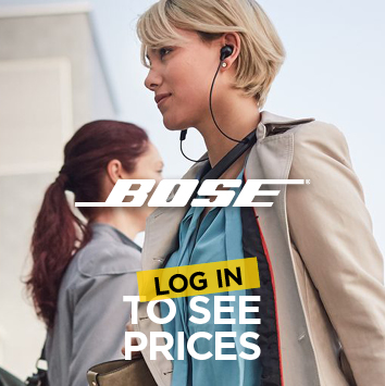 Log in to see pricing on Bose