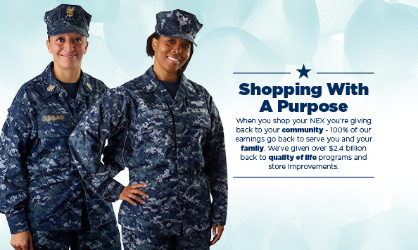 Our profits go to MWR to help support military families