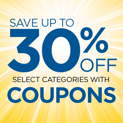 Save Up to 30% Off with These Coupons