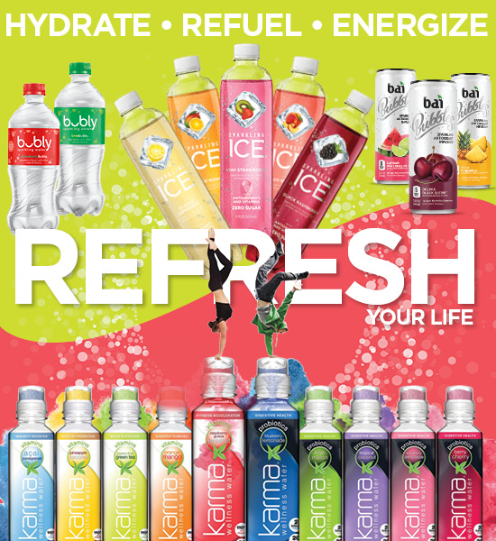 Hydrate, Refuel and Energize